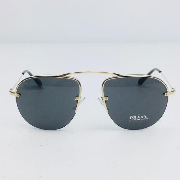 9ef30a8a4ae Prada Teddy Aviator Sunglasses